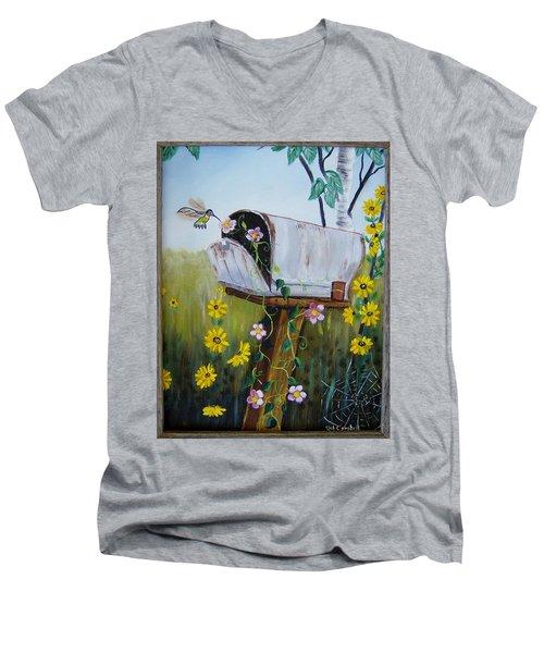 Country Mailbox Men's V-Neck T-Shirt