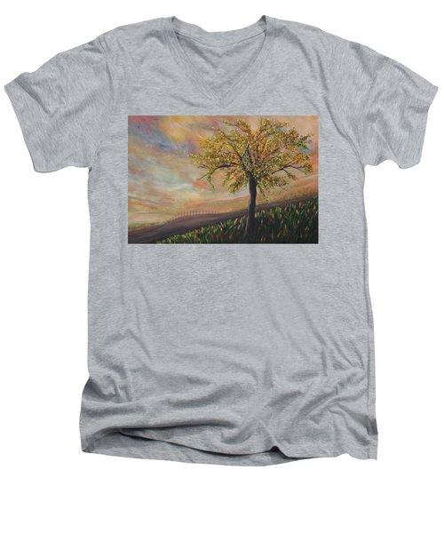 Country Morn Men's V-Neck T-Shirt