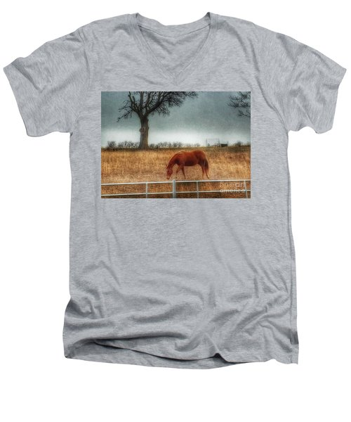 County Road 4100 Men's V-Neck T-Shirt