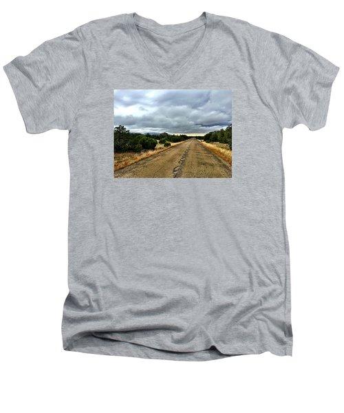 County Road Men's V-Neck T-Shirt