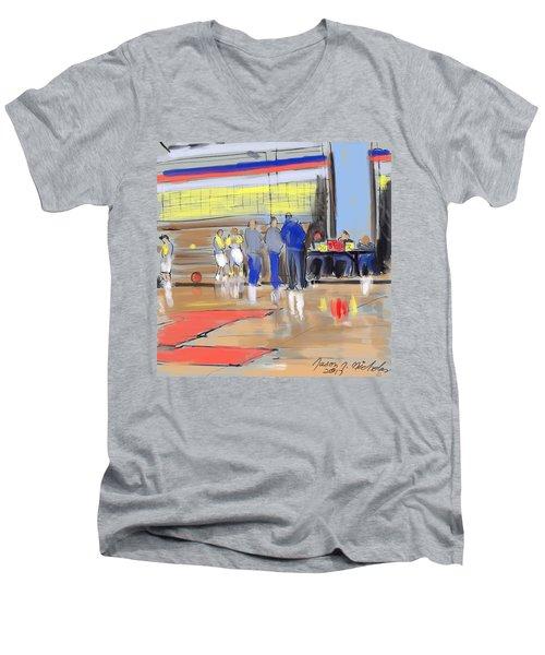 Court Side Conference Men's V-Neck T-Shirt