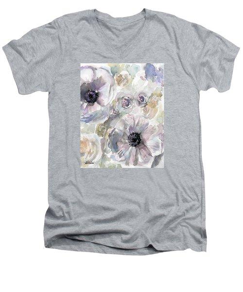 Courtney 1 Men's V-Neck T-Shirt by Arleana Holtzmann