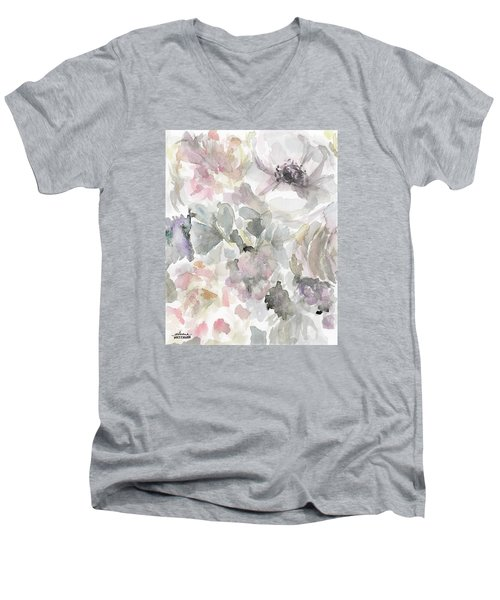 Courtney 2 Men's V-Neck T-Shirt by Arleana Holtzmann