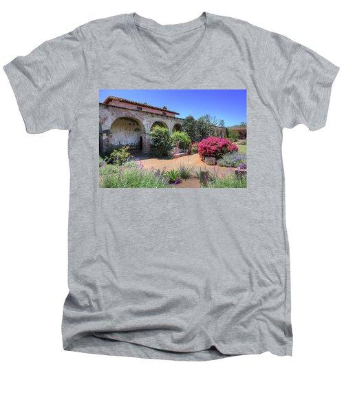 Courtyard Garden Men's V-Neck T-Shirt