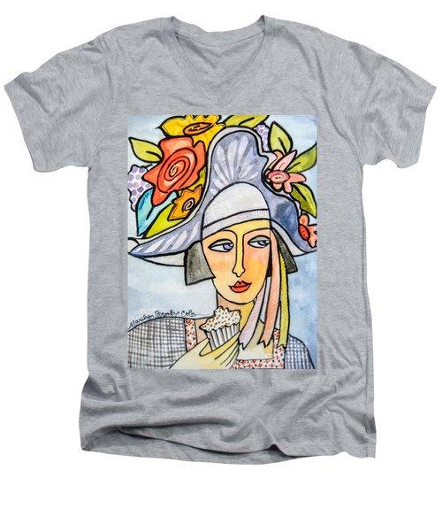 Couture Chapeau Men's V-Neck T-Shirt