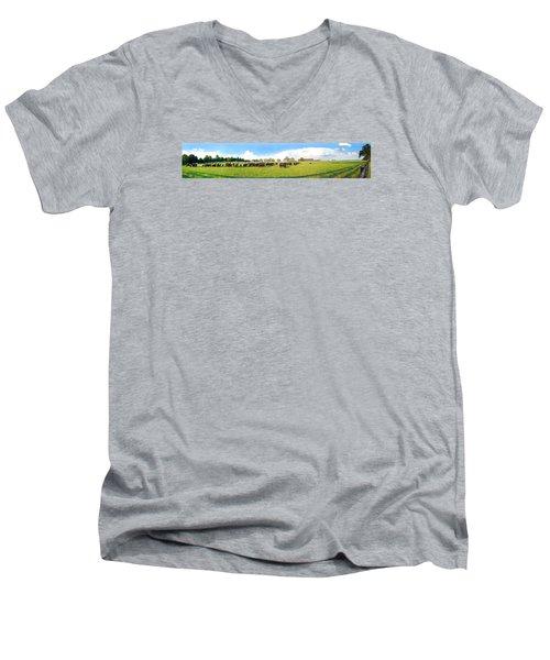 Cow Expance Men's V-Neck T-Shirt