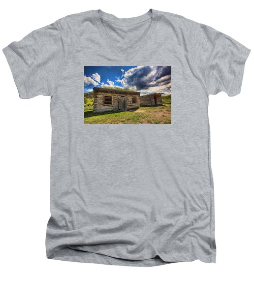 Cowboy Jail Men's V-Neck T-Shirt
