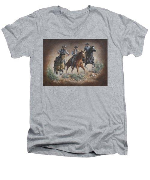 Cowboys Men's V-Neck T-Shirt