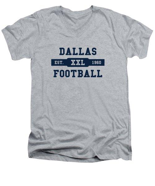 Cowboys Retro Shirt Men's V-Neck T-Shirt by Joe Hamilton