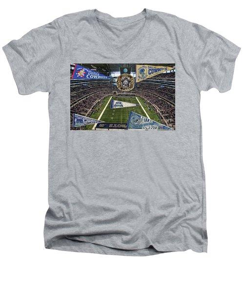 Cowboys Super Bowls Men's V-Neck T-Shirt