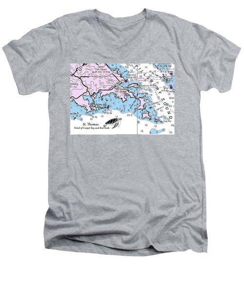 Cowpet Bay Men's V-Neck T-Shirt