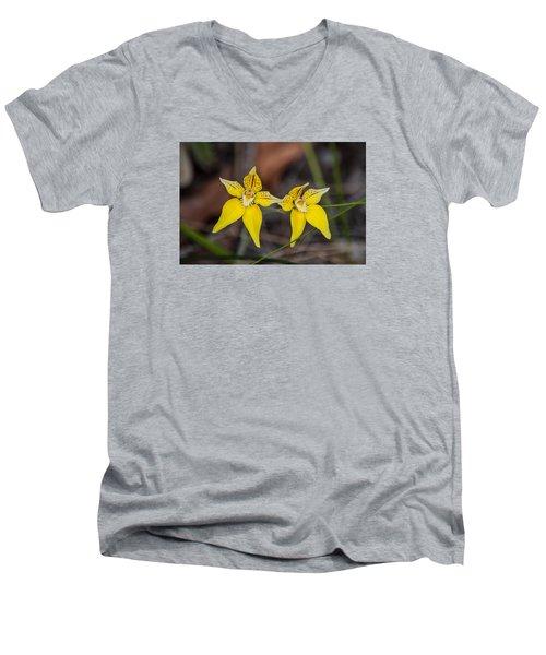 Cowslip Orchid Australia Men's V-Neck T-Shirt