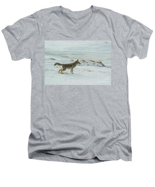 Coyote - 8962 Men's V-Neck T-Shirt