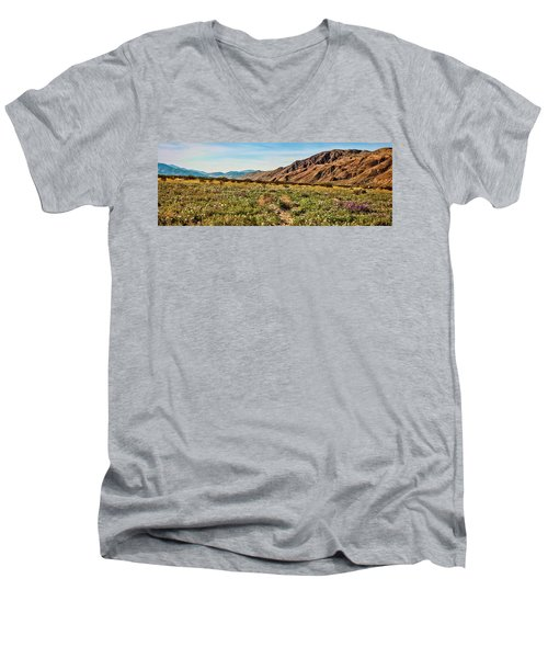 Coyote Canyon Meadow View Men's V-Neck T-Shirt