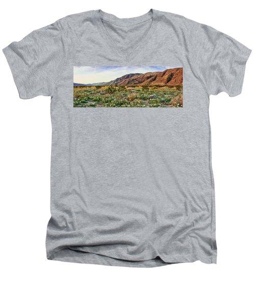 Coyote Canyon Sweet Light Men's V-Neck T-Shirt