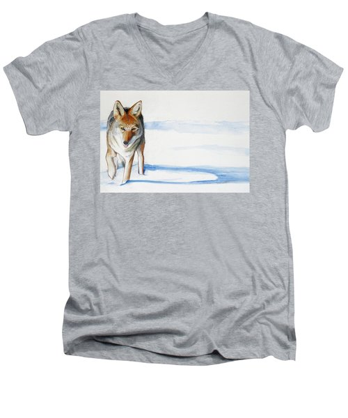 Coyote Trot Men's V-Neck T-Shirt