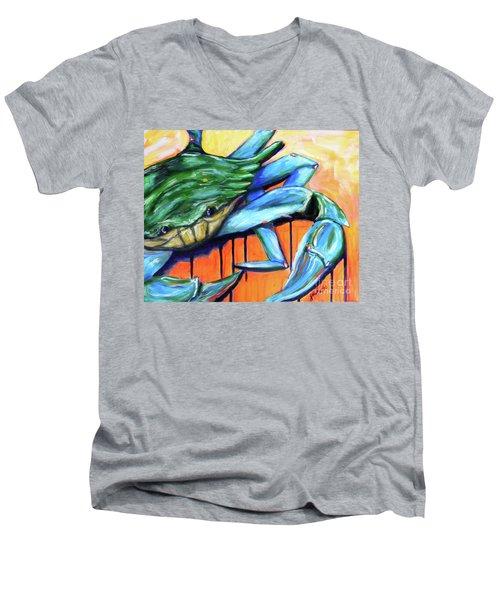 Crabby Men's V-Neck T-Shirt
