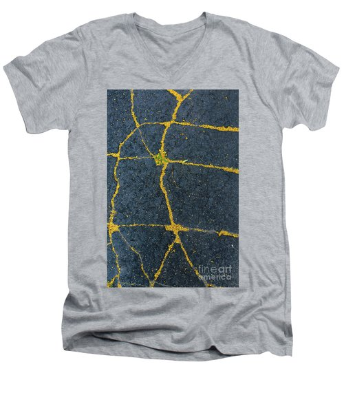 Cracked #1 Men's V-Neck T-Shirt