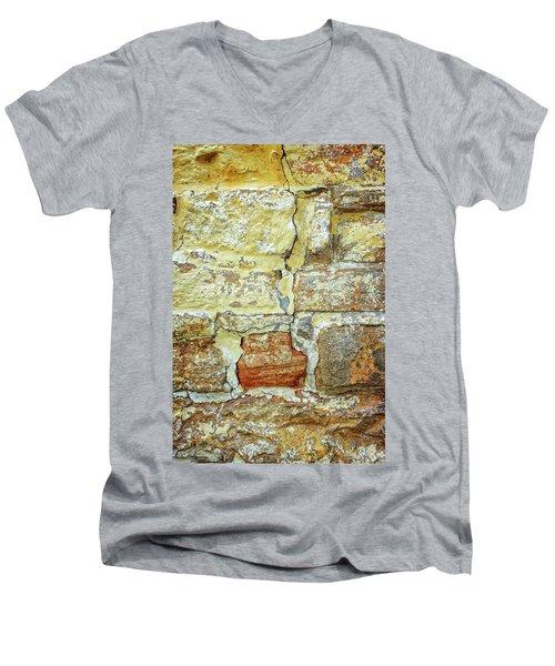 Cracked Men's V-Neck T-Shirt