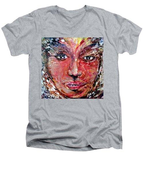 Cracked Soul Men's V-Neck T-Shirt