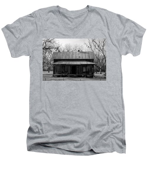 Cracker Cabin Men's V-Neck T-Shirt