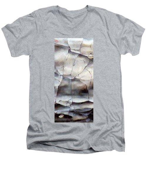 Crackle Men's V-Neck T-Shirt