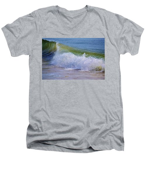 Crash Men's V-Neck T-Shirt