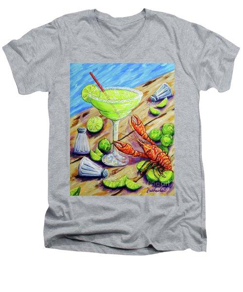Craw-rita Men's V-Neck T-Shirt