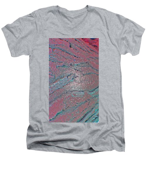 Men's V-Neck T-Shirt featuring the photograph Created By The Hand Of God by Lenore Senior
