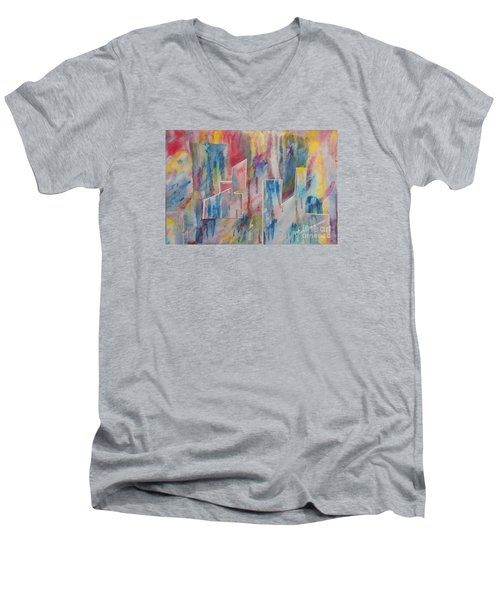 Creative Utopia Men's V-Neck T-Shirt