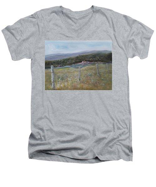 Creek Walk Men's V-Neck T-Shirt