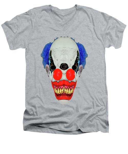 Creepy Clown Men's V-Neck T-Shirt