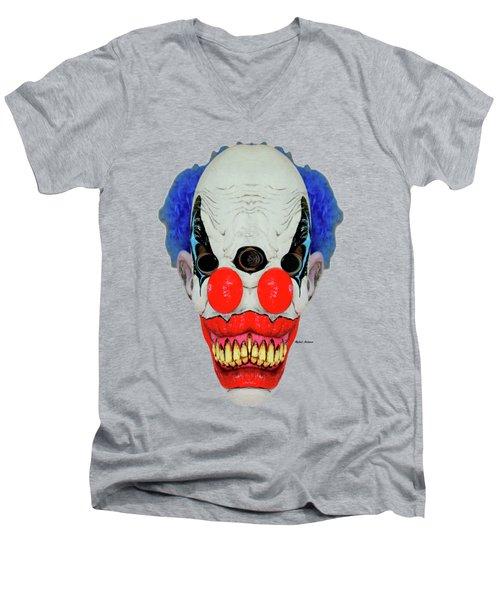 Creepy Clown Men's V-Neck T-Shirt