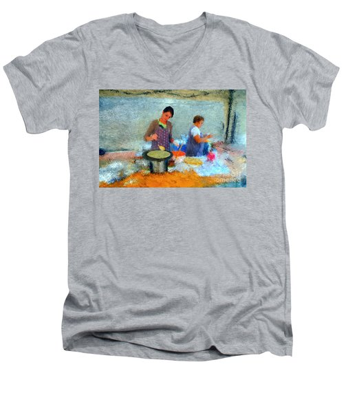 Crepe Makers Men's V-Neck T-Shirt