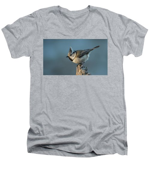 Men's V-Neck T-Shirt featuring the photograph Crest by Torbjorn Swenelius