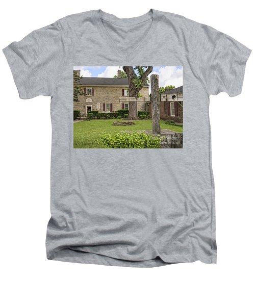 Crime And Punishment Men's V-Neck T-Shirt