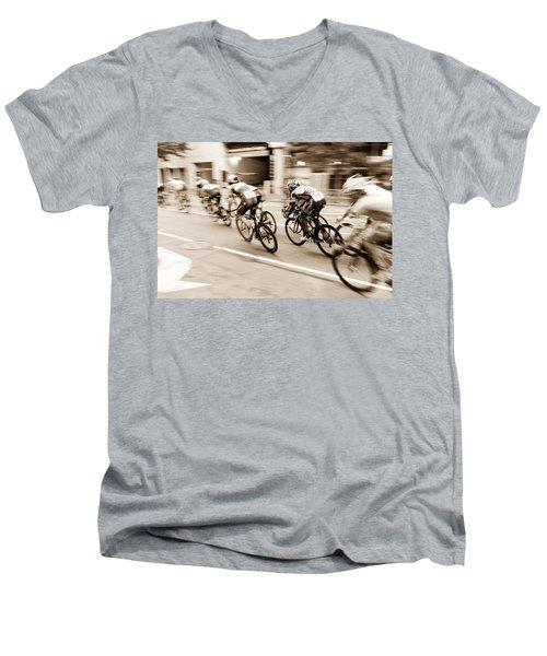 Criterium Men's V-Neck T-Shirt