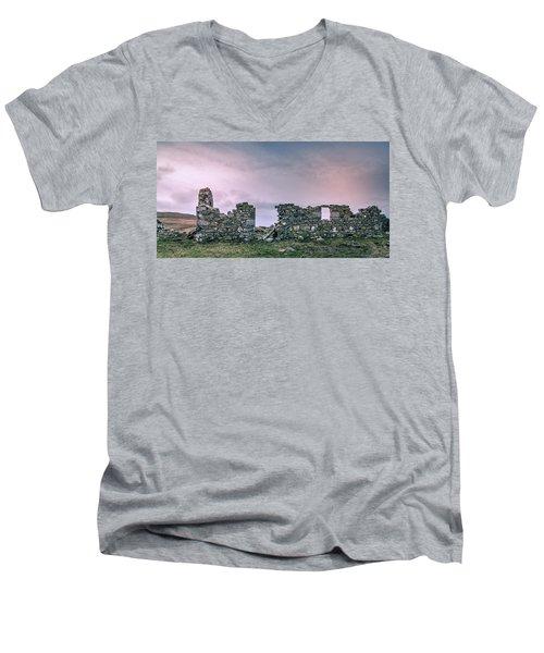 Croft No More Men's V-Neck T-Shirt