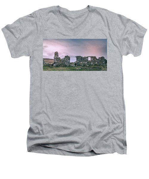Croft No More Men's V-Neck T-Shirt