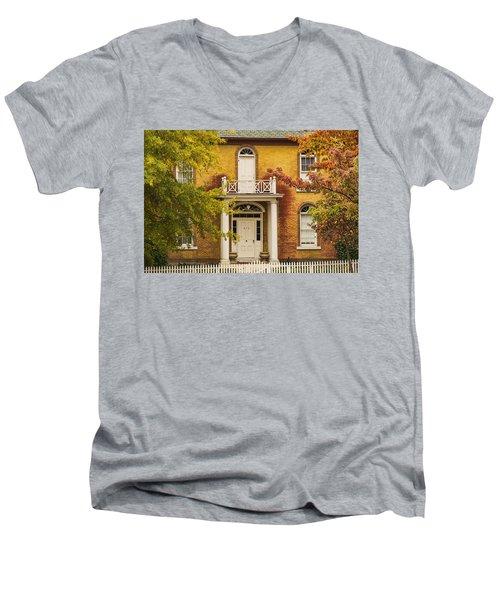 Crooked White Fence Men's V-Neck T-Shirt