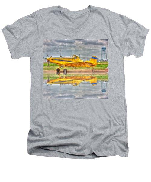 Crop Duster 002 Men's V-Neck T-Shirt