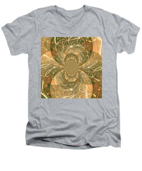 Crop Of Life II Men's V-Neck T-Shirt