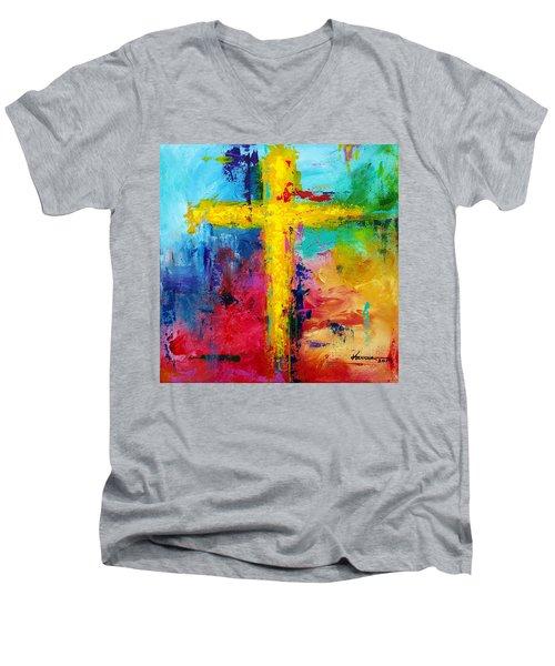 Cross 7 Men's V-Neck T-Shirt