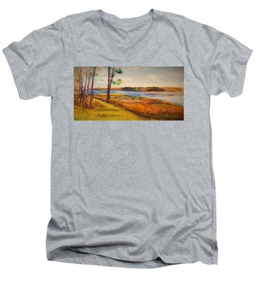 Cross Ranch State Park Men's V-Neck T-Shirt
