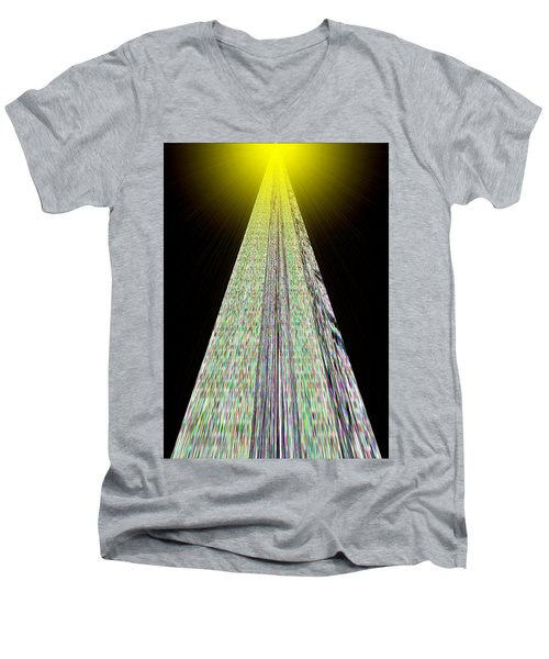 Cross That Bridge Men's V-Neck T-Shirt