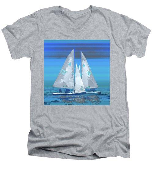Crossing Men's V-Neck T-Shirt