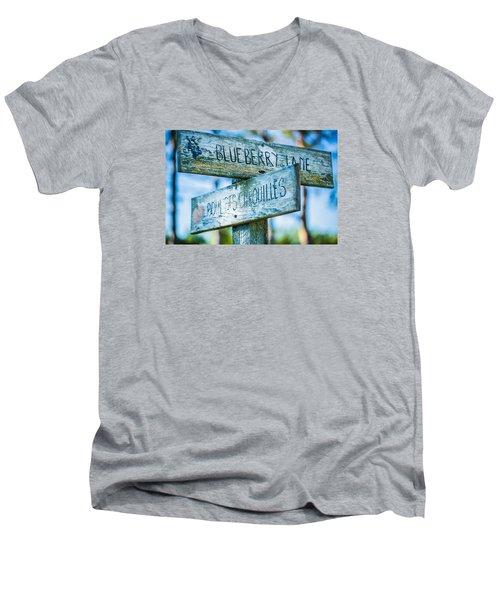 Crossroads Men's V-Neck T-Shirt