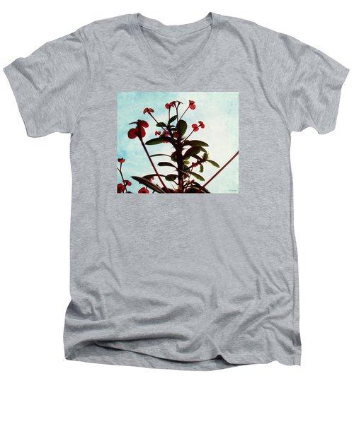 Crown Of Thorns Men's V-Neck T-Shirt