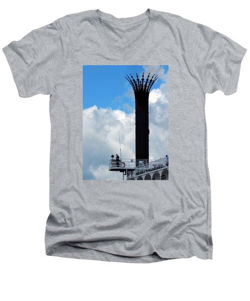 Crowned Clouds Men's V-Neck T-Shirt