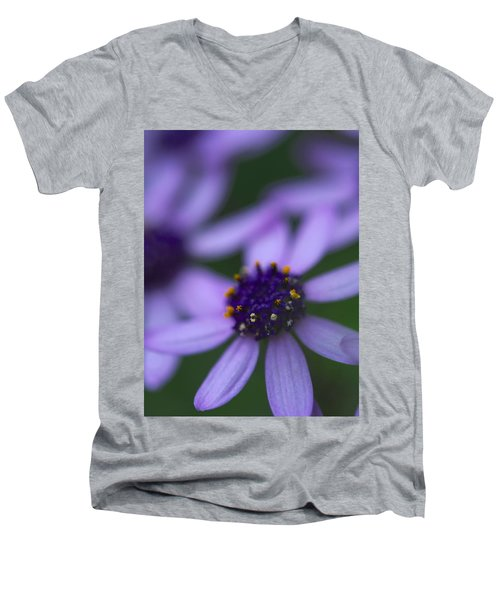 Crowned With Purple Men's V-Neck T-Shirt